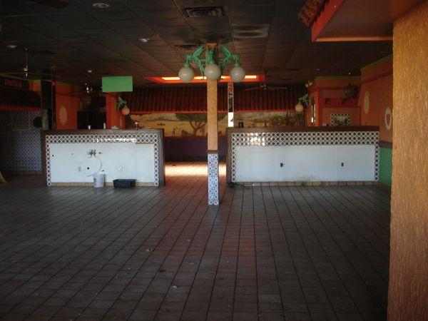 Abandoned Baton Rouge Broadmoor Theatre Merchants