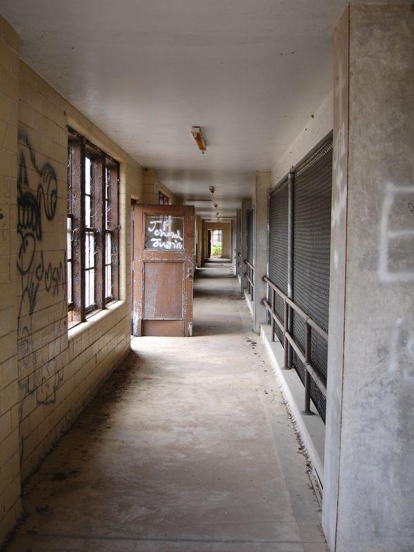 Abandoned Baton Rouge Huey P Long Fieldhouse Pool
