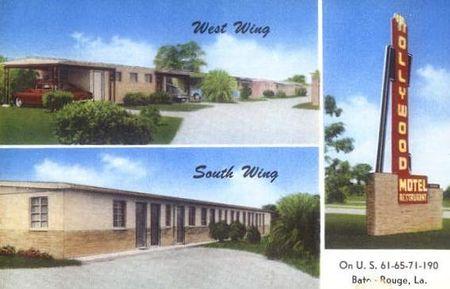 Hollywood motel c1950s