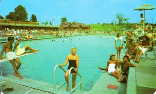 Grossinger's pool in heyday